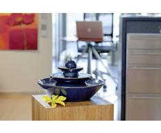 "Fontana Feng Shui in Ceramica ""Pisa"" - Blu"