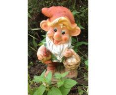 GMMH design 4 nano 91046-4 con pollo, 32 cm, alto nano da giardino figurina decorativo decorazione