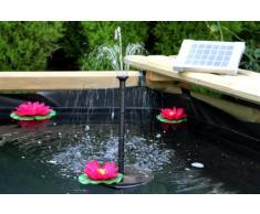 PK - Pompa solare per fontana d'acqua, con pannello di 70 cm
