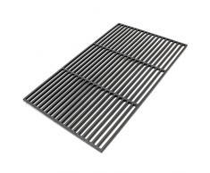Griglia per barbecue in ghisa rettangolare 60 x 40 cm solida Barbecue a carbone e a gas