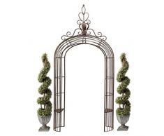 Design Toscano FU71591 Arco da Giardino Principessa, Oro, 42x142x297 cm