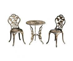 Tavolo in ferro battuto da giardino acquista tavoli in for Tavolino e sedia montessori