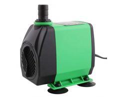 Amzdeal Pompa acqua Pompa sommergibile Pompa di circolazione,60W 3000L / H max Altezza 3m Pompa di fontana, stagno, acquario, acqua dolce e acqua dolce marina (green)