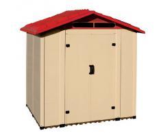 CASETTA BOX RIPOSTIGLIO CAPANNO IN PVC PER ATTREZZI 221X182X217CM TUSCANY 200