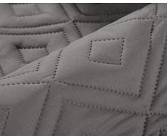 """Sunrise Divano letti Protector buttare (grigio, (tre posti ( 280 x 179 cm )) 110"""" larghezza x 70"""" lunghezza anti-skid resistente all'acqua di protezione mobili lavabile in lavatrice Copridivano Copridivani 1/2/3 posti adatti anche"""