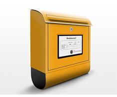 Cassetta postale design Mailbox 39x46x13cm, Größe:46cm x 39cm