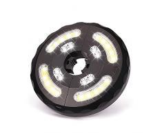 Linkax Lampada per Ombrellone, Luce Ombrellone da Giardino Ricaricabile USB con 8 LED e 4 COB, 3 Modalità di Illuminazione Luci Esterno per Ombrello da Giardino Spiaggia Balcone Campeggio Barbecue