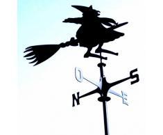 Banderuola segnavento segna vento STREGA. Prodotto artigianalmente in Italia.