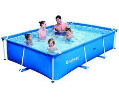 Bestway 56042 Piscina per bambini deluxe splash 2,60 x 1,70 x 0,62 m