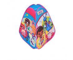 The Ninja Corporation 6463 - WD Dottoressa Peluche Tenda Gioco, Poliestere, Stampata su 4 Lati, 75 x 75 cm x Altezza 90 cm