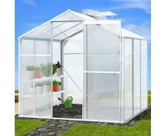 Jago Serra da giardino serra piante per esterno serra orto trasparente 3,6 m² modello a scelta
