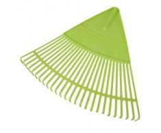 Xclou 341201 - Rastrello per foglie in plastica, 62 x 54 cm