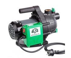 Ultranatura GP-100 - Pompa da Giardino, 800 Watt, Portata Fino a 3.000L/H, Pressione di Mandata Fino a 0,36Mpa (3,6Bar)