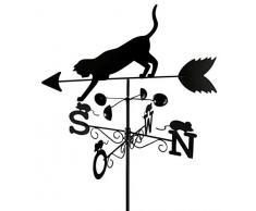 Wenko - Segnavento, con gatto 53 x 43 x 170 cm