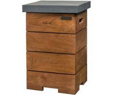 Happy Cocooning braciere da giardino Enclosure tavolino Teak legno/grigio hc13 2023 a
