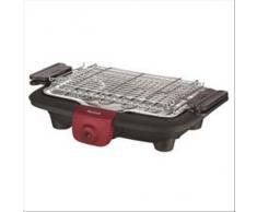 Tefal BG9058 EasyGrill Plus Barbecue Elettrico, 2200 W, Raccogli Grassi, Security System