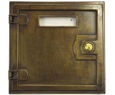 Elegante Cassetta Postale Buca lettere in ottone massicio da Incasso