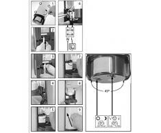 Smartwares 10.020.76 Applique da Esterno con Sensore di Movimento, Plastica, Grigio, halogen, elettrico