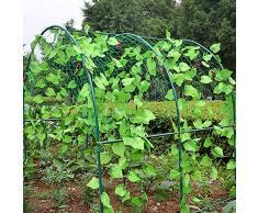 Rete a graticcio, rete per piante rampicanti, rete per traliccio, rete per piante da giardino, rete per piante rampicanti per pomodori, fagioli, uve, lamponi.