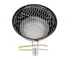 LANDMANN 31377 Nero barbecue e bistecchiera