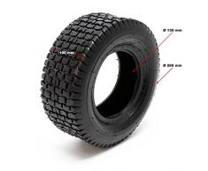 Wiltec Copertone per ruote di tosaerba 13 x 5-6 Copertone per trattorini e tagliaerba