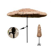 Ombrello, Ombrello allaperto con la manovella 2,7 m Ombrello da ombrello da ombrello da parasole da ombrellone da ombrellone da ombrellone Ombrello da sole Ombrello Giardino Balcone Patio Outdoor Omb