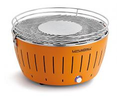 LotusGrill G-OR-435 Barbecue a Carbone senza Fumo XL, 43.5 x 35 x 25.7 cm, colore Arrancione