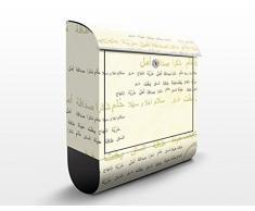 Cassetta postale design no.CG198 Arabia Floral 39x46x13cm, Größe:46cm x 39cm