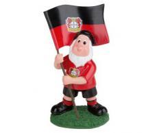Trade Con - Nano da giardino con bandiera del Bayer 04 Leverkusen