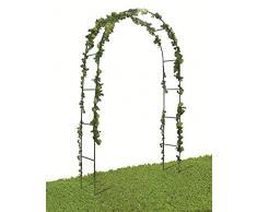 VERDELOOK Arco di Trionfo Dimensioni 140x38x240cm, per arredo Giardino e Decorazioni