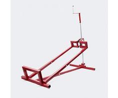 Wiltec Dispositivo di Sollevamento per trattorini tagliaerba Carico Max. 400 kg