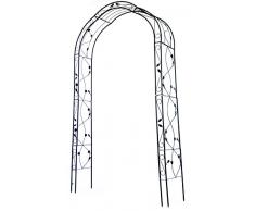 Woodside - arco decorativo per piante rampicanti/rose - metallo