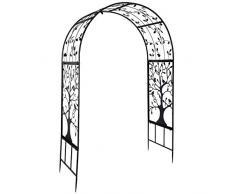 Emoshayoga Piante rampicanti Arco Arco per Matrimoni Decorazioni per Giardinaggio Giardino per Esterni Arco in Ferro per Decorazioni per Cerimonie Nuziali