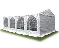 wolketon 3x4M Gazebo da Giardino Impermeabile Tendone Giardino con 3 Laterali Antipioggia Resistente ai Raggi UV