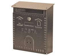 Mille 701 - Cassetta postale, Antracite, 23 x 9 x 29 cm