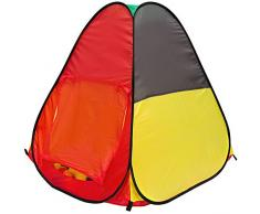 Tenda gioco per bambini JASPER   faciele da montare   leggera da trasportare   Ideale per dentro e fuori casa   Con pratica custodia per riporla e/o trasportarla