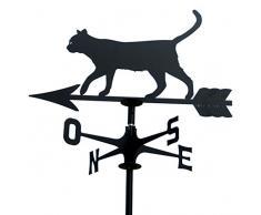 Banderuola segnavento segna vento GATTO. Prodotto artigianalmente in Italia.