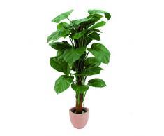 Potos gigante artificiale con 45 foglie, verde-giallo, 150 cm - Pothos decorativo / Pianta ornamentale - artplants
