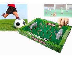 Gioco del calcio a molla portatile divertiti a fare goal con le dita calcio in scatola 374563. MEDIA WAVE store
