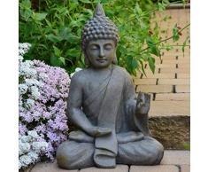 Buddha Scultura Carattere Statua cm 54 Terrazza Giardino