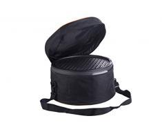 Trebs Portable Carbone Barbecue da Tavolo von Senza Fumo Evolution e Inclusa - Ideale per Camping, Balcone o in casa (Funzionamento a Batteria, Dimensioni: 35 x 20 cm, 1,25 Watt)
