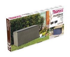 Toomax Z162R097 Cassapanca da giardino, 120x57x63h cm, Antracite