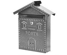 Cassetta Postale In Ferro Battuto.