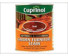 Cuprinol - Mordente per mobili da giardino in legno duro e dolce, 750 ml