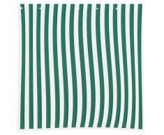 Siena Garden Set pareti per gazebo pieghevole (1 con finestra e 1 senza finestra), colore: Verde/Bianco