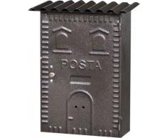 Cassetta Postale mod. 83 in Ferro Battuto per Esterni 22x7x35H cm col. Bronzo