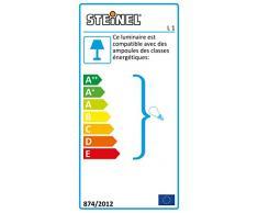 Steinel 650612 Lampada per Esterni con Sensore, L 1 Nero