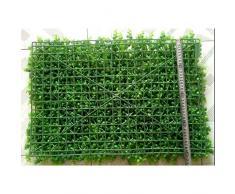 YNFNGXU Pannello di Foglie di Edera Artificiale, Decorazione della Pianta Verde Cespuglio Decorazione della Parete di Sfondo Verde All'aperto (Colore : C)