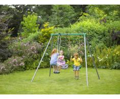 Plum Products® Helios II - Set altalena in metallo da giardino