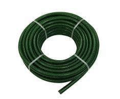 Xclou 369106-Tubo dellacqua da giardino, Ø 1/2(12.5 mm), 50 m, colore: verde